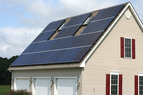 Residential Roof Mounted Solar PV System in Pittsgrove, NJ