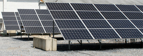 Ground Mount Solar PV Array for Woodruff Energy in Bridgeton, NJ
