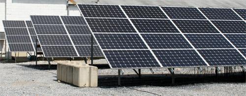 Ground Mount Solar PV Array for Woodruff Energy in Bridgeton, NJ